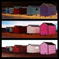 Beach Huts – Montage
