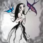 """Bird Girl"" by debrahzart"