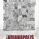 """Indianapolis Neighborhoods - Poster 1"" by RossPhotoWorks"