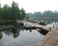 Rainy Lake Docks