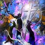 """Jesus from Cross"" by mikifonvielle"