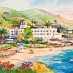 """Hotel Laguna"" by WillyDaleArt"