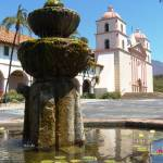 """Santa Barbara Mission"" by Melissa-Widmaier"