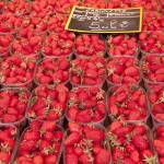 """Strawberries at Farmers"