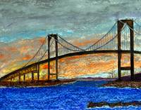 Newport Bridge, Rhode Island