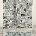 """Indianapolis Neighborhoods - Poster 2"" by RossPhotoWorks"