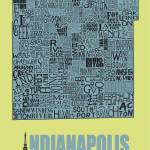 """Indianapolis Neighborhoods - Poster 7"" by RossPhotoWorks"