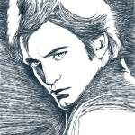 """Twilight : Edward Cullen / Robert Pattinson"" by Tomatoskins"