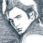 """Twilight : Edward Cullen / Robert Pattinson"" by Tomatoskins"