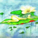 """waterlilly lady"" by clearwaterconcepts"