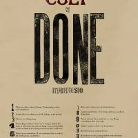 The Cult of Done Manifesto Art Prints & Posters by Joshua Mauldin