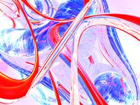 Dynamic Satin Abstract