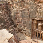 """The Treasury at Petra"" by jcarillet"