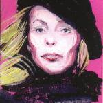 """Joni Mitchell"" by AnnHuey"
