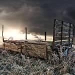 """Frozen Cart"" by georgefairbairnphotograph"
