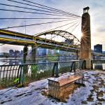 """Pittsburgh Bridge HDR 2"" by MikeandAmy"