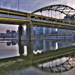 """Pittsburgh Bridge HDR 1"" by MikeandAmy"