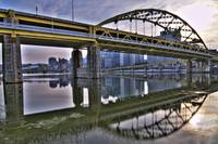 Pittsburgh Bridge HDR 1