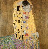 The Kiss, 1907-08, by Gustav Klimt