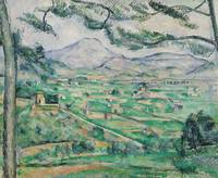 Montagne Sainte-Victoire, 1886-87, by Paul Cezanne