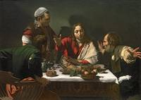 The Supper at Emmaus, 1601, by Caravaggio