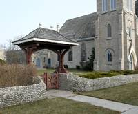 Church Courtyard