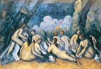 The Large Bathers, c 1900-05, by Paul Cezanne