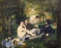Luncheon on the Grass, 1863, by Manet