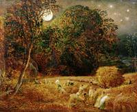 Harvest Moon, by Samuel Palmer