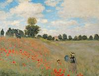 Wild Poppies, near Argenteuil, 1973, Claude Monet