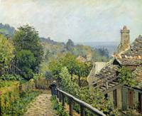 Louveciennes / The Heights at Marly, 1873, Sisley