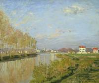 The Seine at Argenteuil, 1873, by Claude Monet