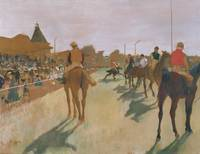 The Parade / Race Horses, by Edgar Degas
