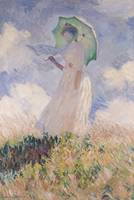Woman with Parasol, 1886, by Claude Monet