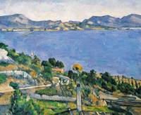 L'Estaque, by Paul Cezanne