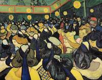 Dance Hall at Arles, 1888, by Vincent van Gogh,