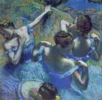 Blue Dancers, c1899, by Edgar Degas