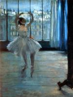 Dancer in Front of a Window, by Edgar Degas
