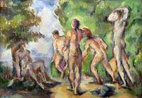 Bathers, c1892-94, by Paul Cezanne