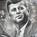 """Kennedy Memorialized"" by connieelaine"