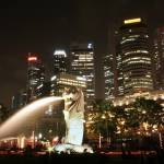 """Singapore Merlion Fullerton Hotel"" by Tomatoskins"