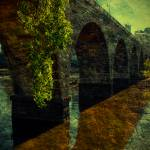 """The Old Stone Arch Bridge - Textured"" by jpat"