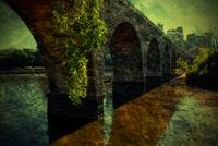 The Old Stone Arch Bridge - Textured