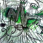 """""""Emerald Symphony"""" by MeganAlfordsArt"""