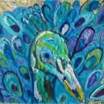 """Peacock"" by paintingsbygretzky"