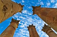 Temple of Artemis - Jerash, Jordan