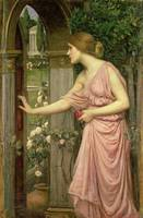 Psyche Entering Cupid's Garden, 1903, Waterhouse