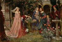 The Enchanted Garden, c. 1916-17, John Waterhouse