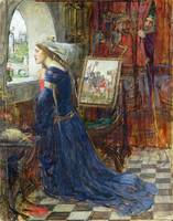 Fair Rosamund, c 1916, by John Waterhouse