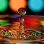 """Disco Ball Water Drop"" by photocatphoto"